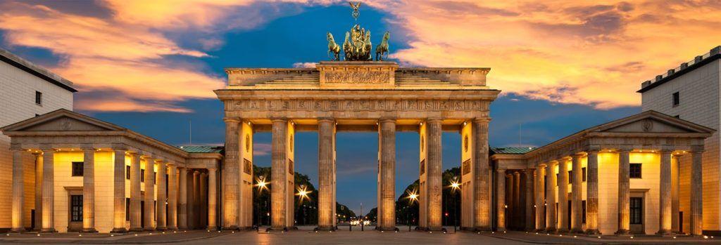Berlin—Brama Brandenburga